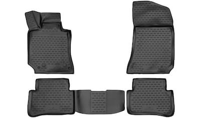 WALSER Passform-Fußmatten »XTR«, Mercedes, E-Klasse, Stufenheck, (4 St., 2... kaufen