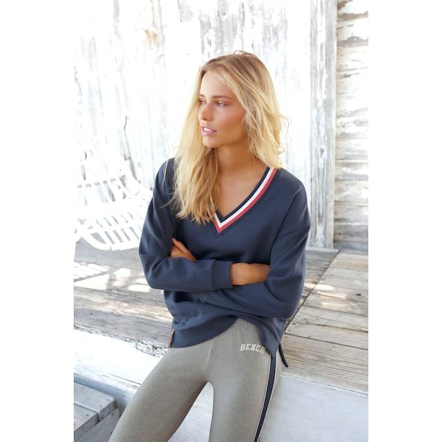 Bench. Sweatshirt »Tricolore«