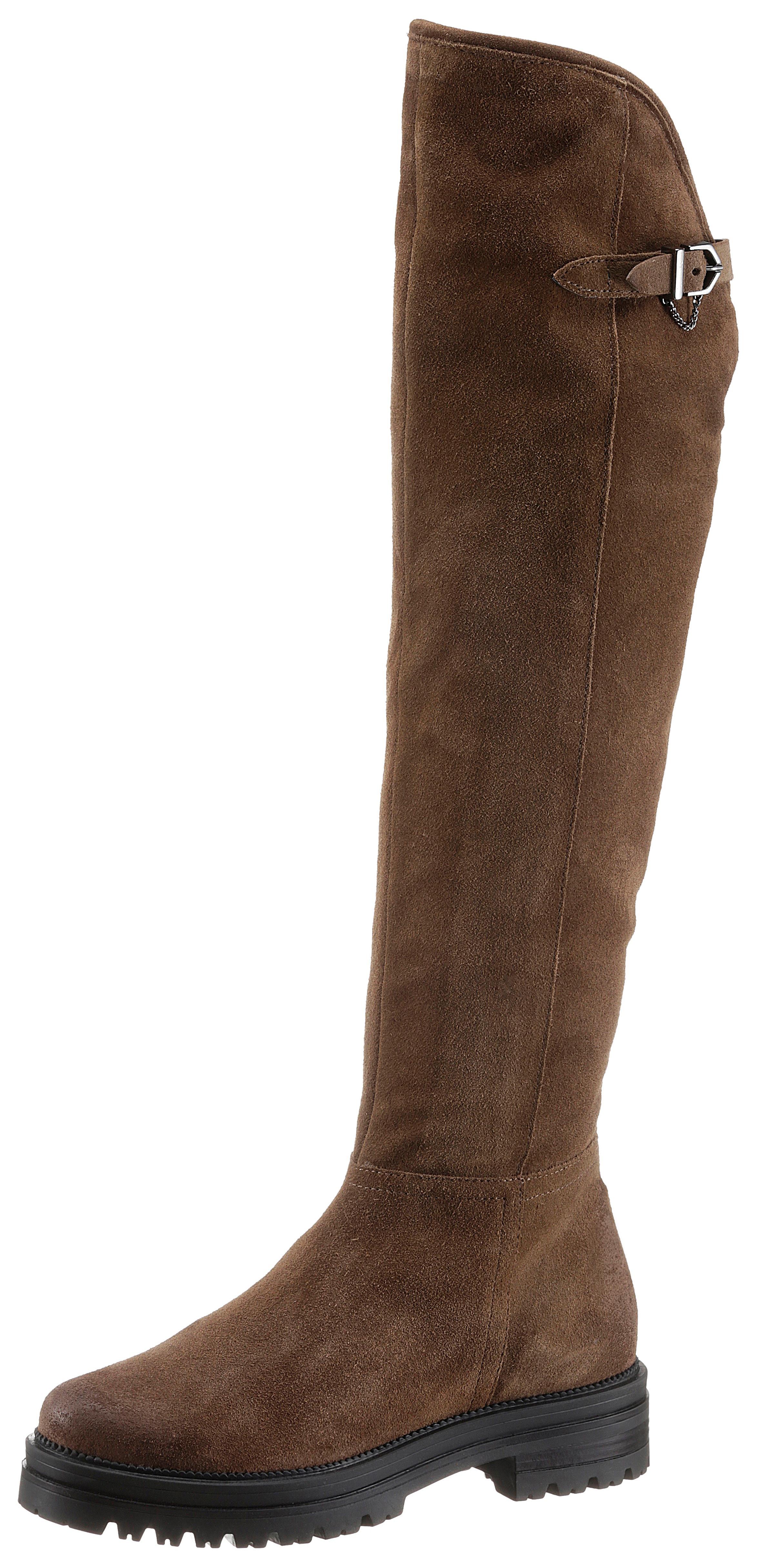 mjus -  Overkneestiefel DOBLE, mit Zierschnalle