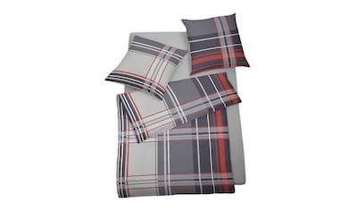 BETTWARENSHOP Bettwäsche »Streifen«, Wunderbar warm und zart auf der Haut kaufen
