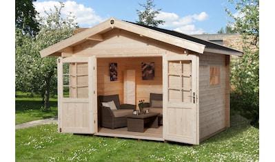 WEKA Set: Gartenhaus »Gr.1«, BxT: 255x230 cm, inkl. Dachschindeln und Fußboden kaufen
