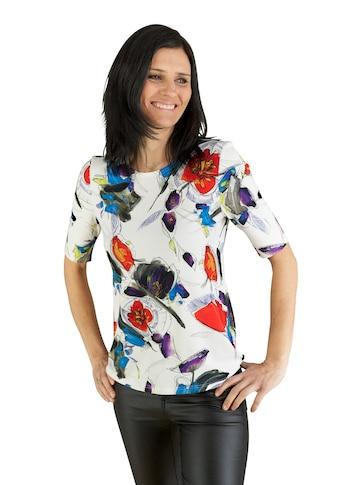 Seidel Moden Helles modisches Blumenshirt kaufen