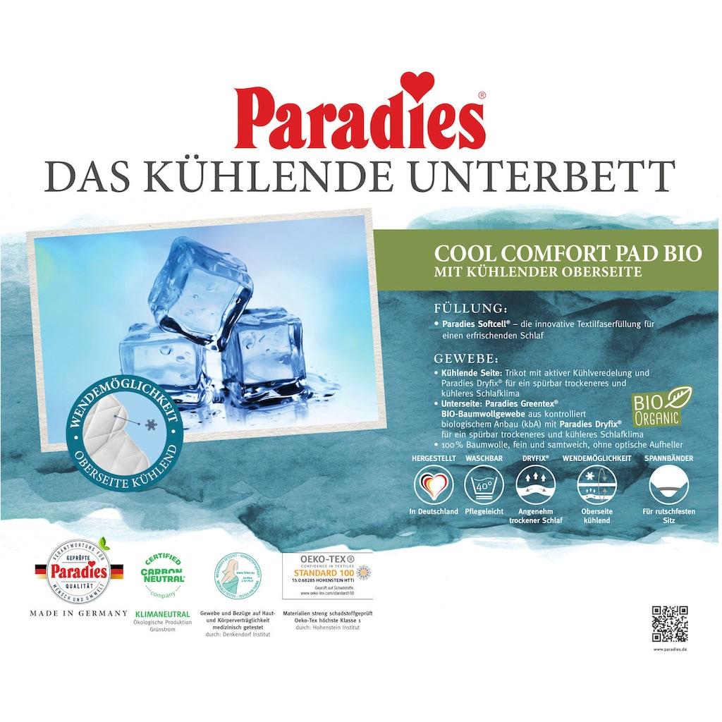 Paradies Matratzenauflage »Cool Comfort Pad Bio«