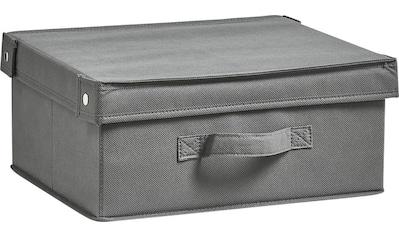 Zeller Present Aufbewahrungsbox »Faltbar«, (1 St.), mit Deckel kaufen