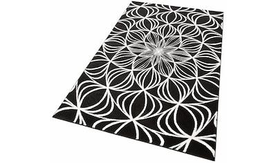 my home Teppich »Carina«, rechteckig, 12 mm Höhe, modernes Design, Wohnzimmer kaufen