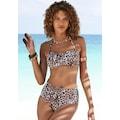 LASCANA Bandeau-Bikini-Top »Lexa«, mit Muschelkante