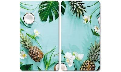 KESPER for kitchen & home Herdblende-/Abdeckplatte »Tropical Summer« kaufen
