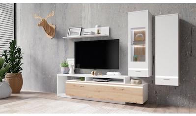TRENDMANUFAKTUR Wohnwand »Cordoba«, (Set, 4 tlg.) kaufen
