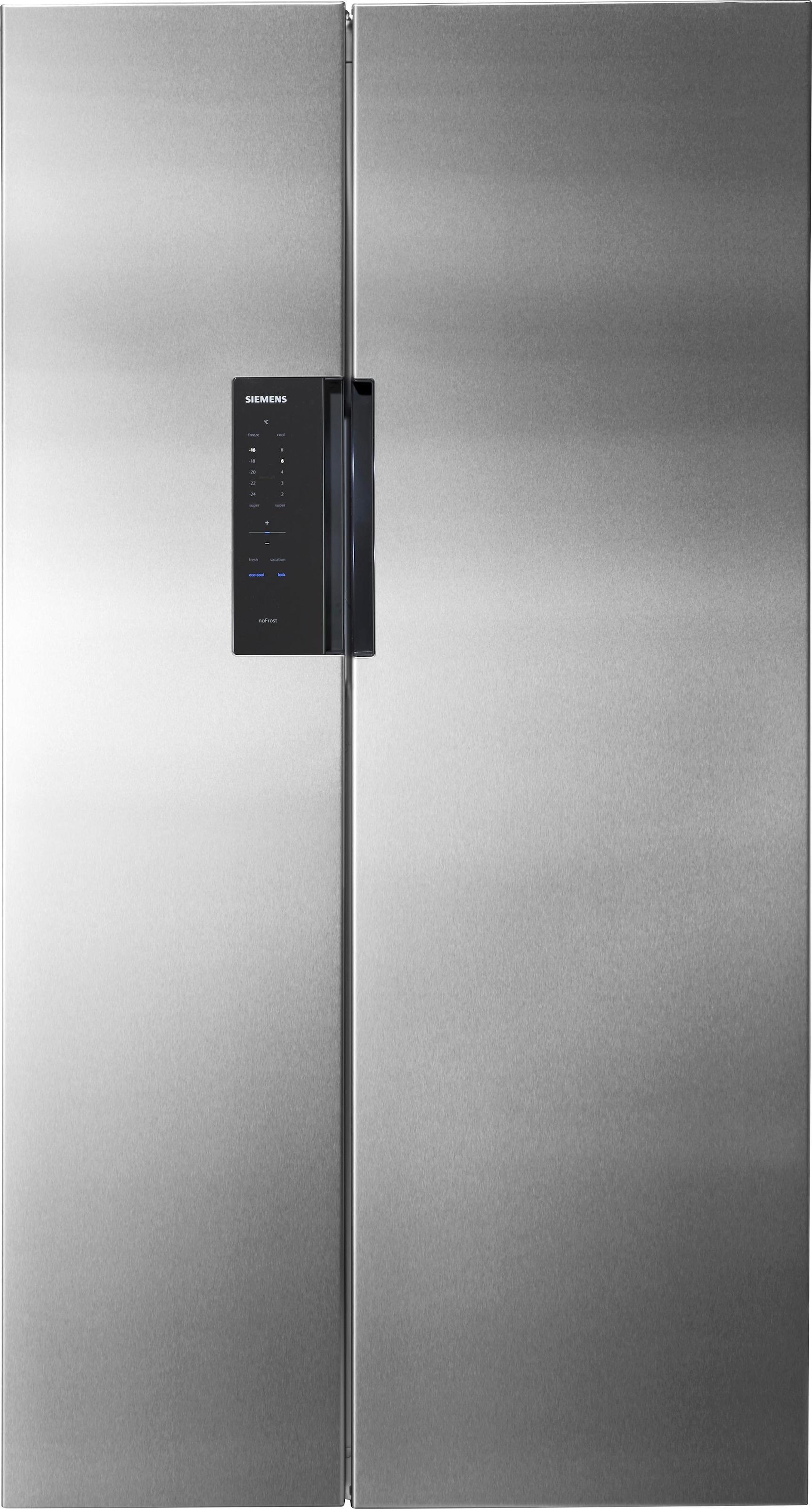 Amerikanischer Kühlschrank Siemens : Side by side kühlschrank auf rechnung raten kaufen