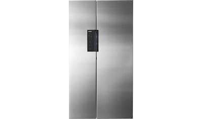 Siemens Kühlschrank Pfeifendes Geräusch : Siemens side by side 175 6 cm hoch 91 cm breit bestellen baur