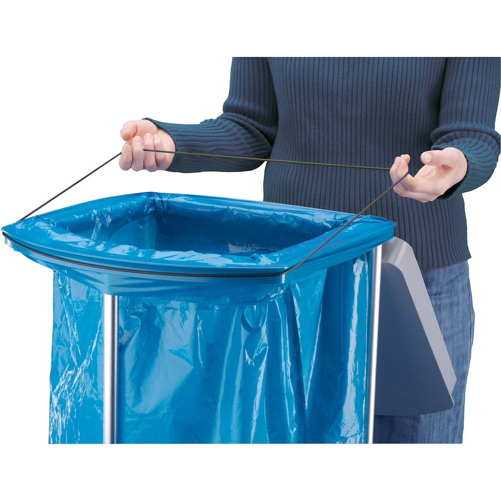 Hailo Müllsackständer »ProfiLine WS, Uno«, 120 Liter, mit Rollen