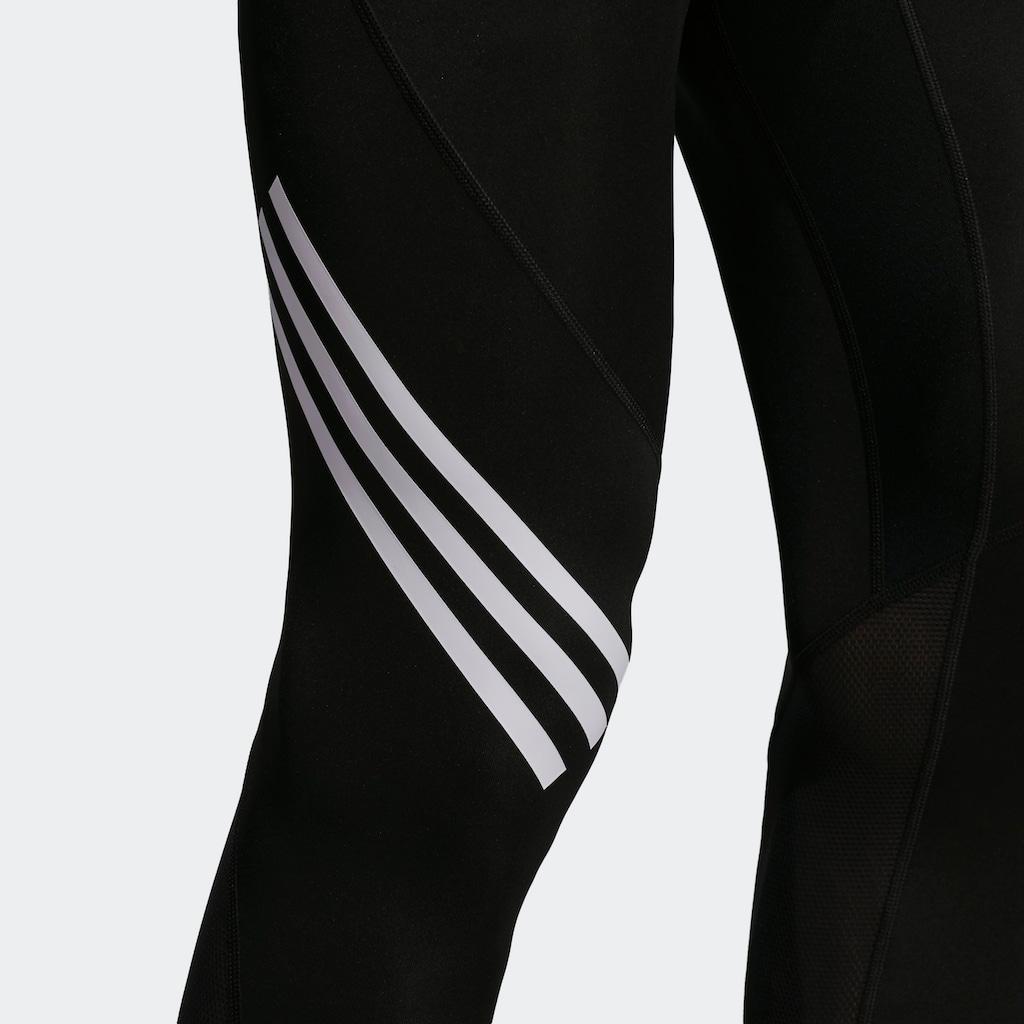 adidas Performance Trainingshose »ALPHASKIN SPORT+ 3-STREIFEN«
