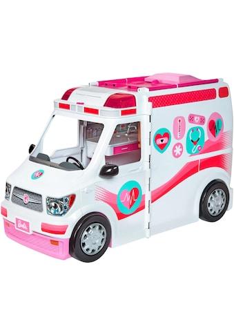Barbie Puppen Fahrzeug »Krankenwagen 2-in-1 Spielset«, mit Licht & Geräuschen kaufen