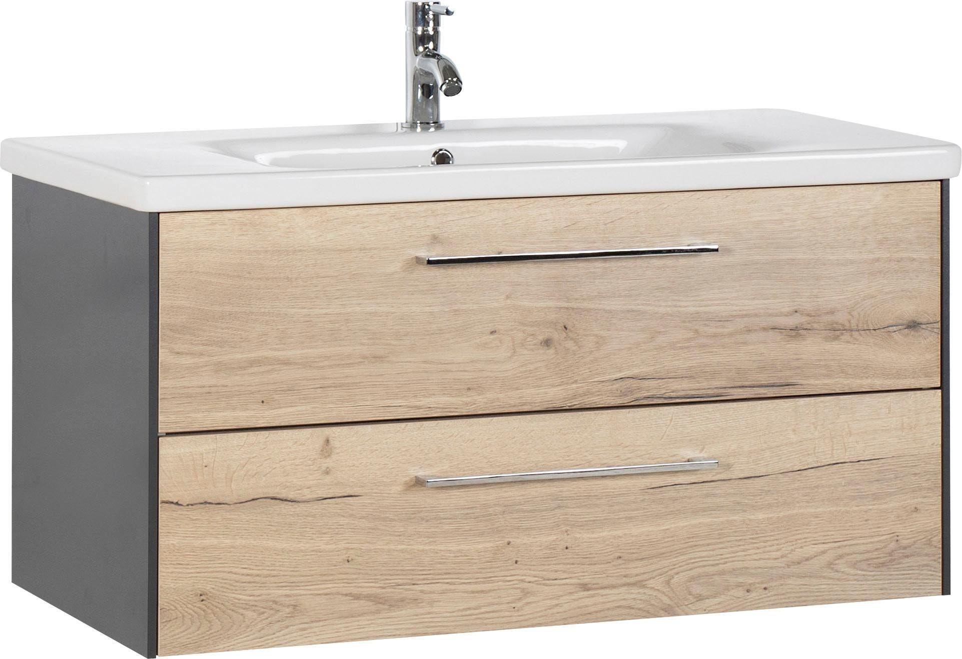 MARLIN Waschtisch, 3400 beige Waschtische Badmöbel