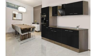 Küchenzeile »York«, mit E - Geräten, Breite 300 cm kaufen