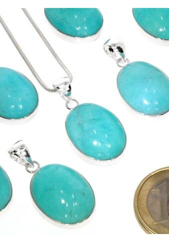 Adelia´s Kettenanhänger »Amazonit Anhänger 925 Silber« kaufen