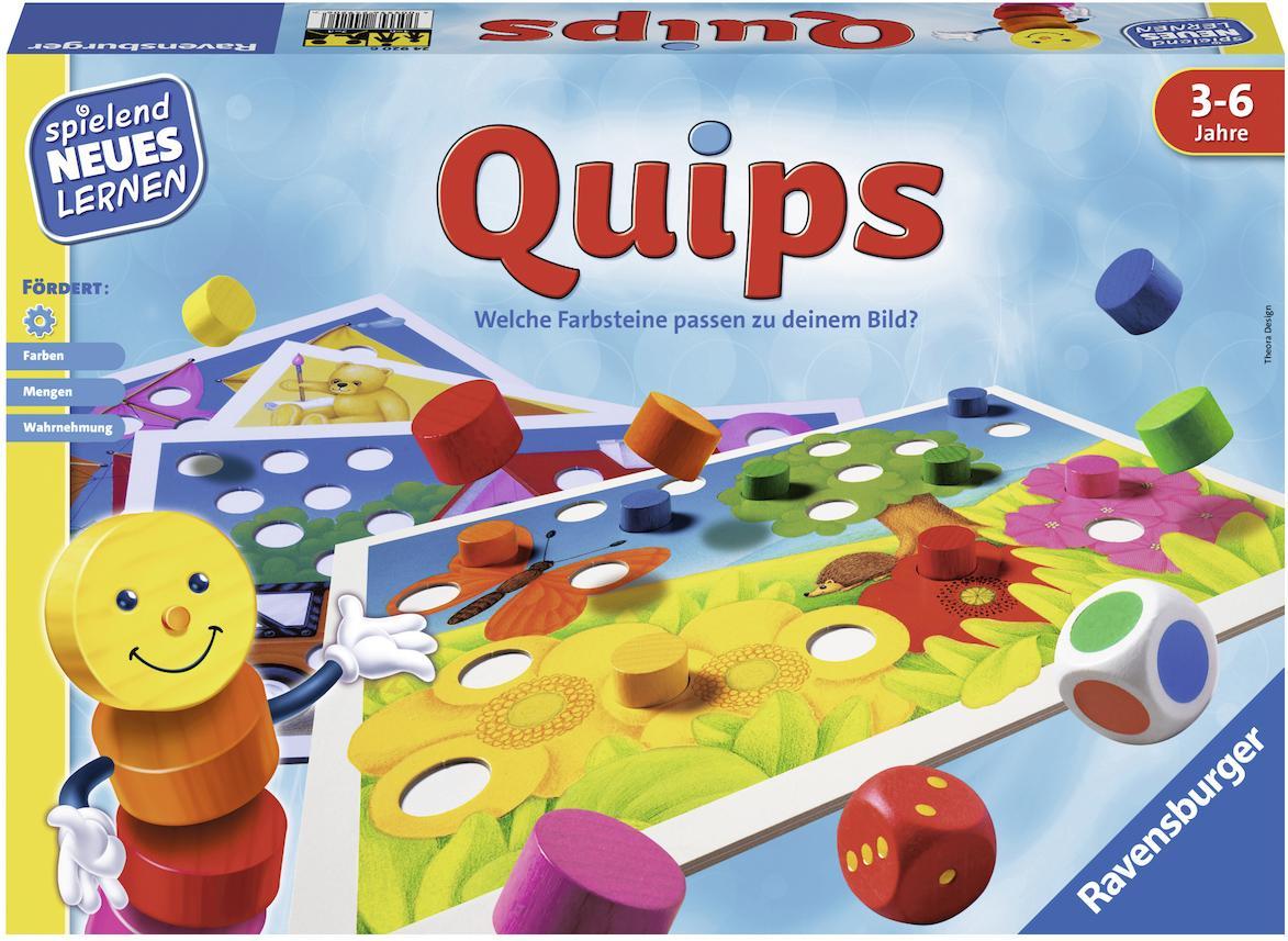 """Ravensburger Spiel """"Quips"""" Technik & Freizeit/Spielzeug/Lernspielzeug/Lernspiele"""