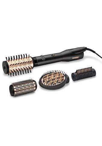 BaByliss Warmluftbürste »AS970E«, 4 Aufsätze}, Big Hair Luxe rotierende Warmluftbürste Premium kaufen