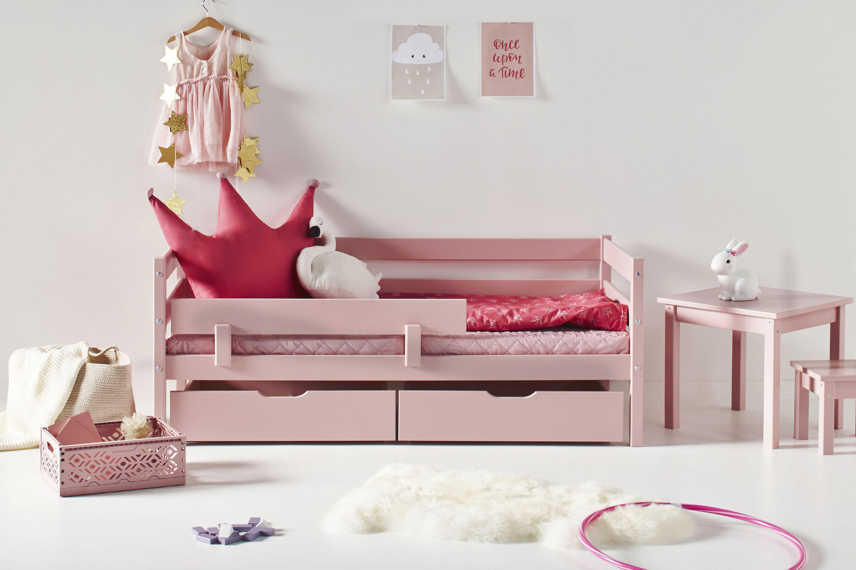 Hoppekids Kinderbett inkl Matratze und Rollrost