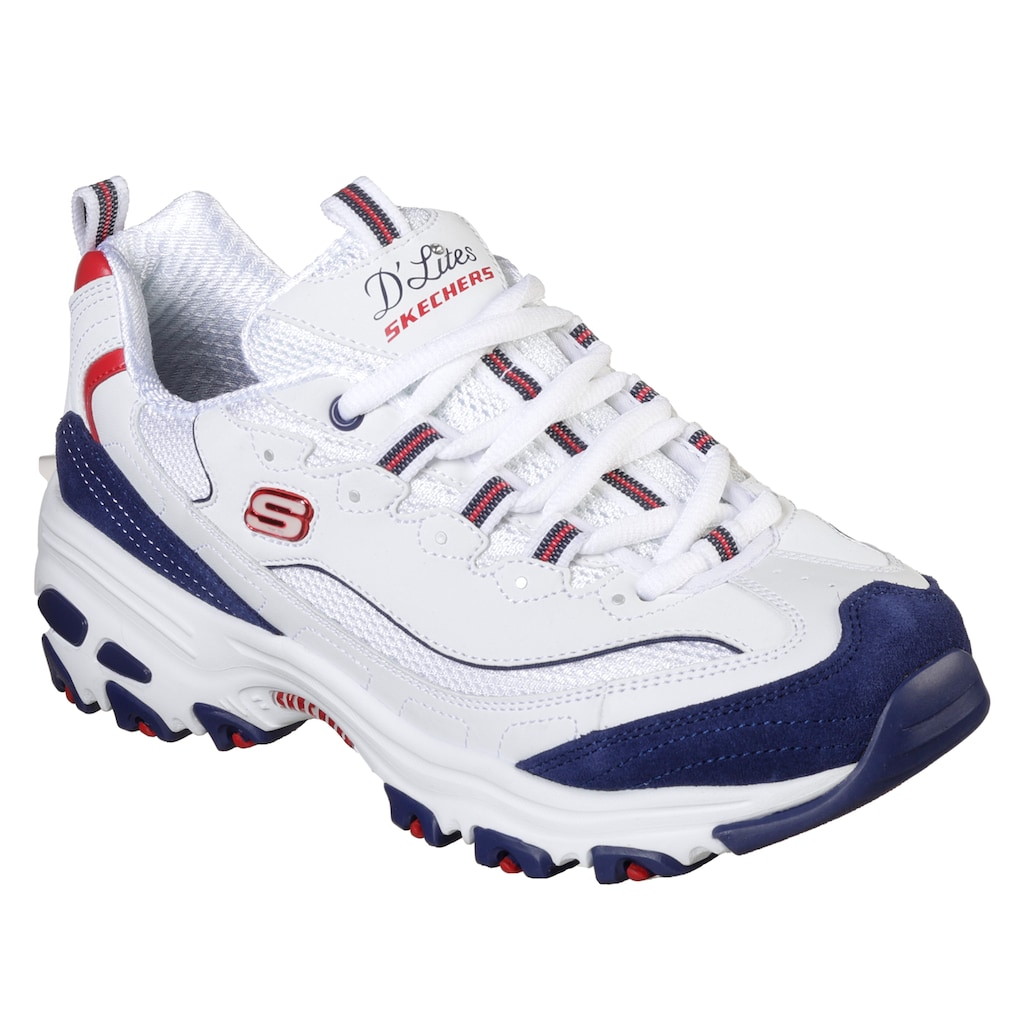 Skechers Sneaker »D´Lites - March Forward«, im trendigen Kontrast-Look