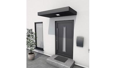 GUTTA Rechteckvordach »BS 160«, Aluminium anthrazit, BxT: 160x90 cm kaufen