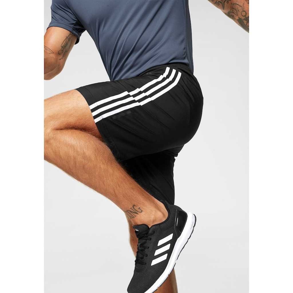 adidas Performance Trainingsshorts »RUN IT 3-STREIFEN«