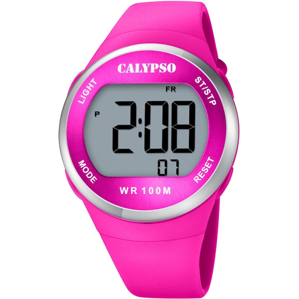 CALYPSO WATCHES Chronograph »Color Splash, K5786/5«