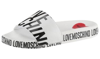 LOVE MOSCHINO Pantolette kaufen