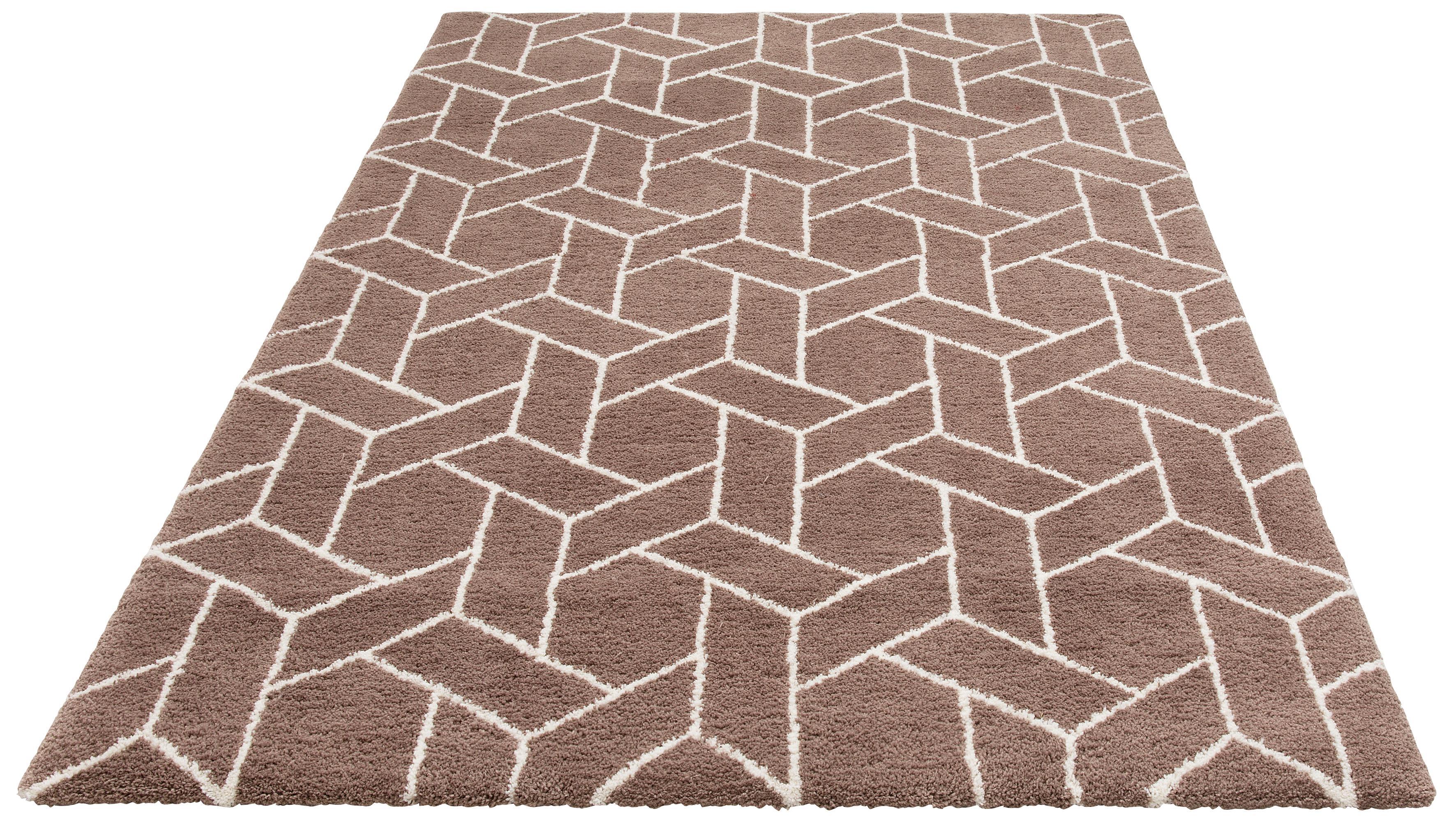 Teppich Milan my home rechteckig Höhe 20 mm maschinell getuftet