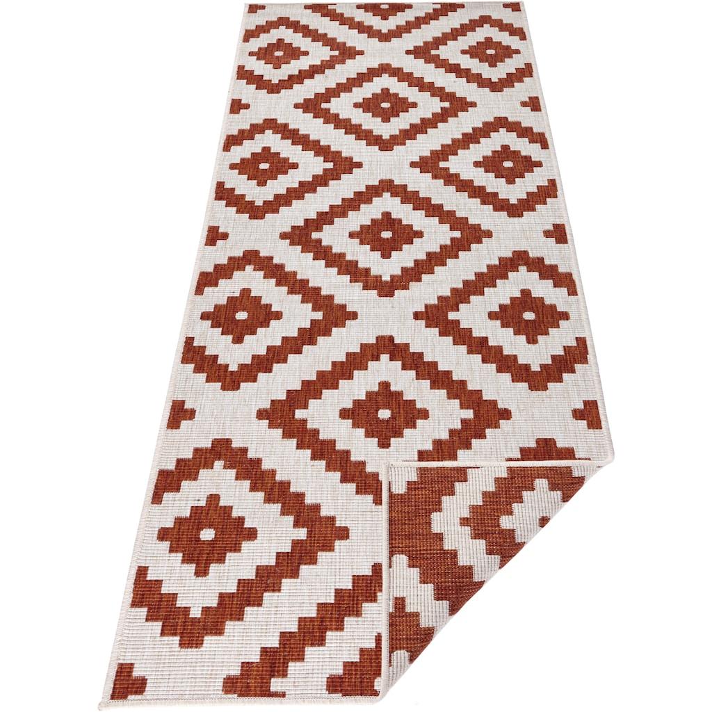 bougari Läufer »Malta«, rechteckig, 5 mm Höhe, In- und Outdoor geeignet, Wendeteppich