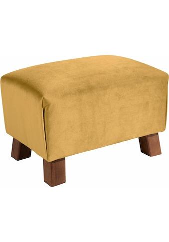 Max Winzer® Fußhocker »Footstool«, Minihocker Breite 40 cm kaufen