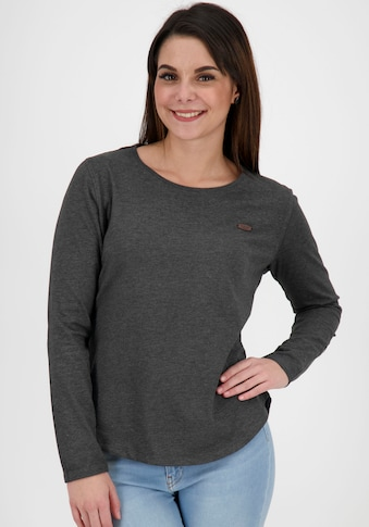 Alife & Kickin T-Shirt »LeaAK A«, unifarbenes Shirt mit Rundbogensaum kaufen