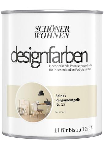 SCHÖNER WOHNEN-Kollektion Wand- und Deckenfarbe »Designfarben«, hochdeckend, Feines... kaufen