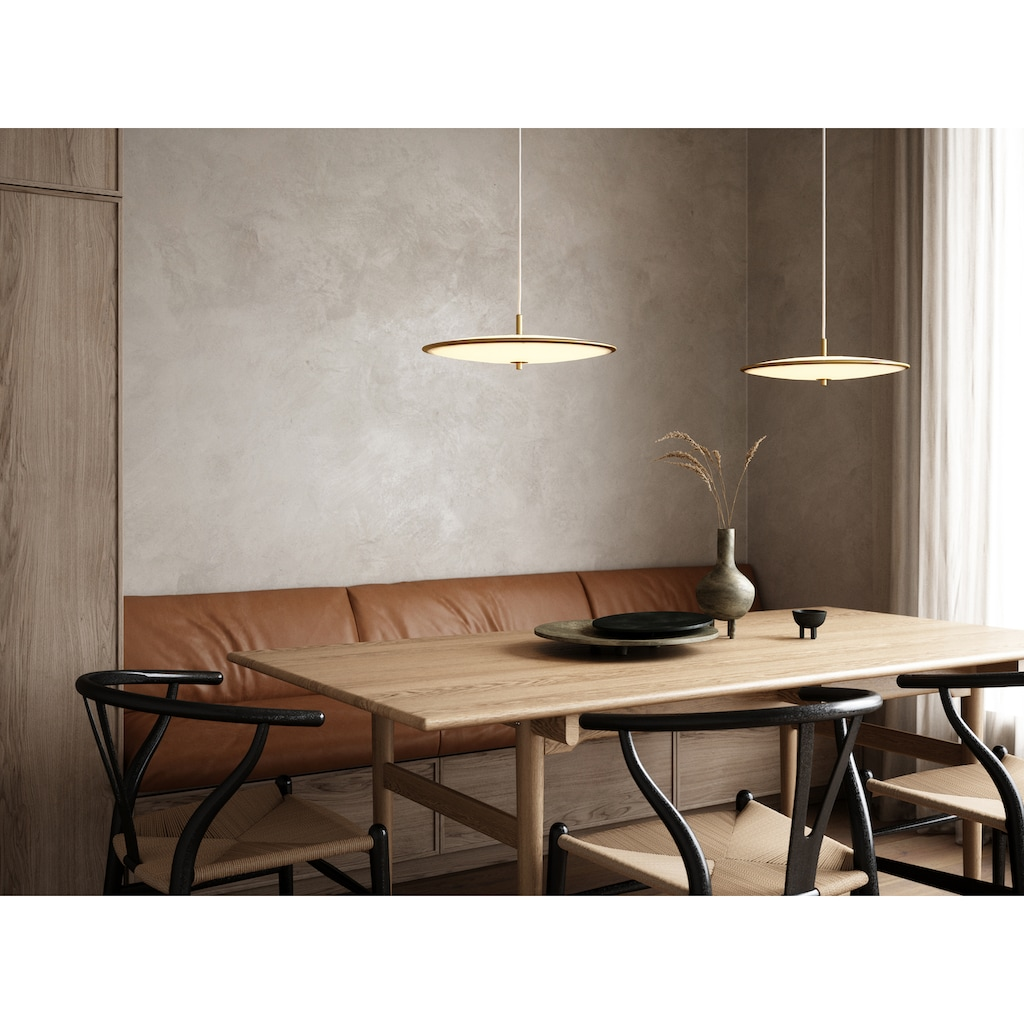 design for the people LED Pendelleuchte »BLANCHE«, LED-Modul, 5 Jahre Garantie auf die LED