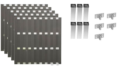 T&J Bohlenzaun »Jackson 3«, 5 Elemente, LxH: 942x180 cm kaufen