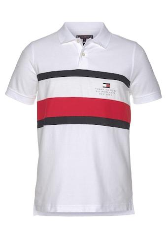 Tommy Hilfiger Poloshirt »CHEST STRIPE SLIM POLO« kaufen