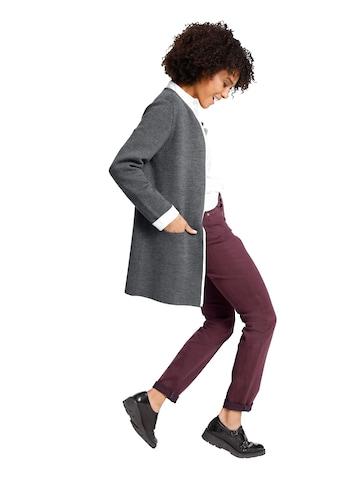 Creation L Merinowolle - Baumwoll - Strickjacke ohne Verschluss kaufen