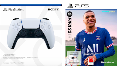 Electronic Arts Spiel »FIFA 22 + DualSense«, PlayStation 5 kaufen