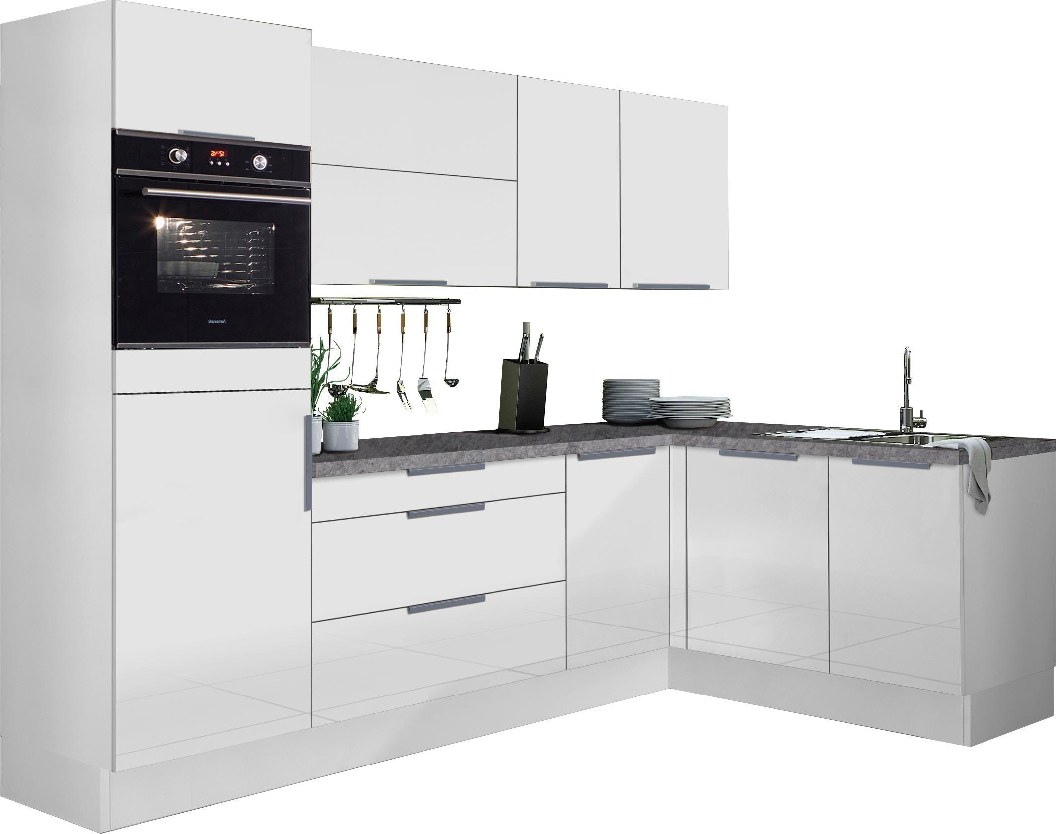 OPTIFIT Winkelküche Tara ohne E-Geräte Stellbreite 265 x 175 cm