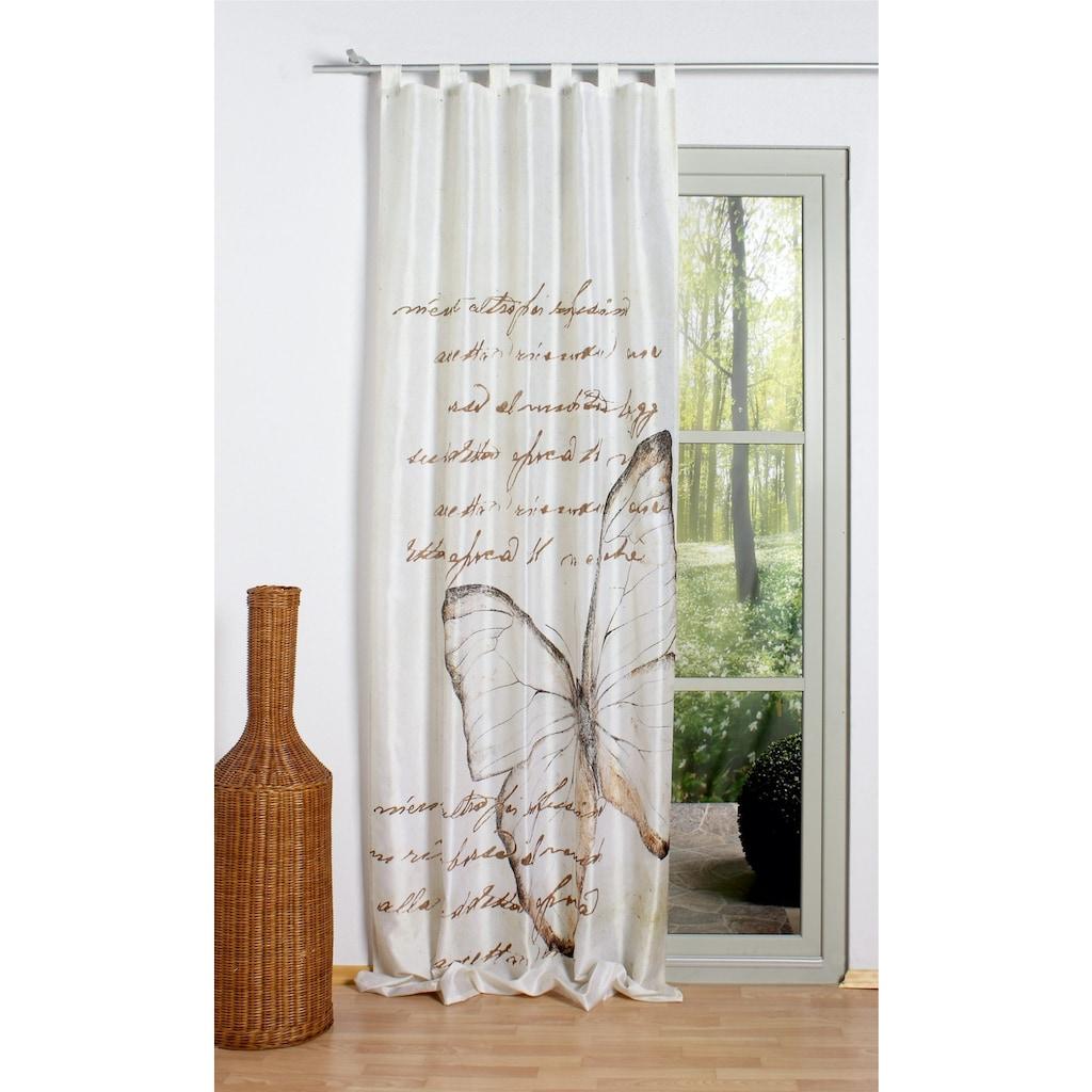 Vorhang, »Avonia«, HOME WOHNIDEEN, Schlaufen 1 Stück
