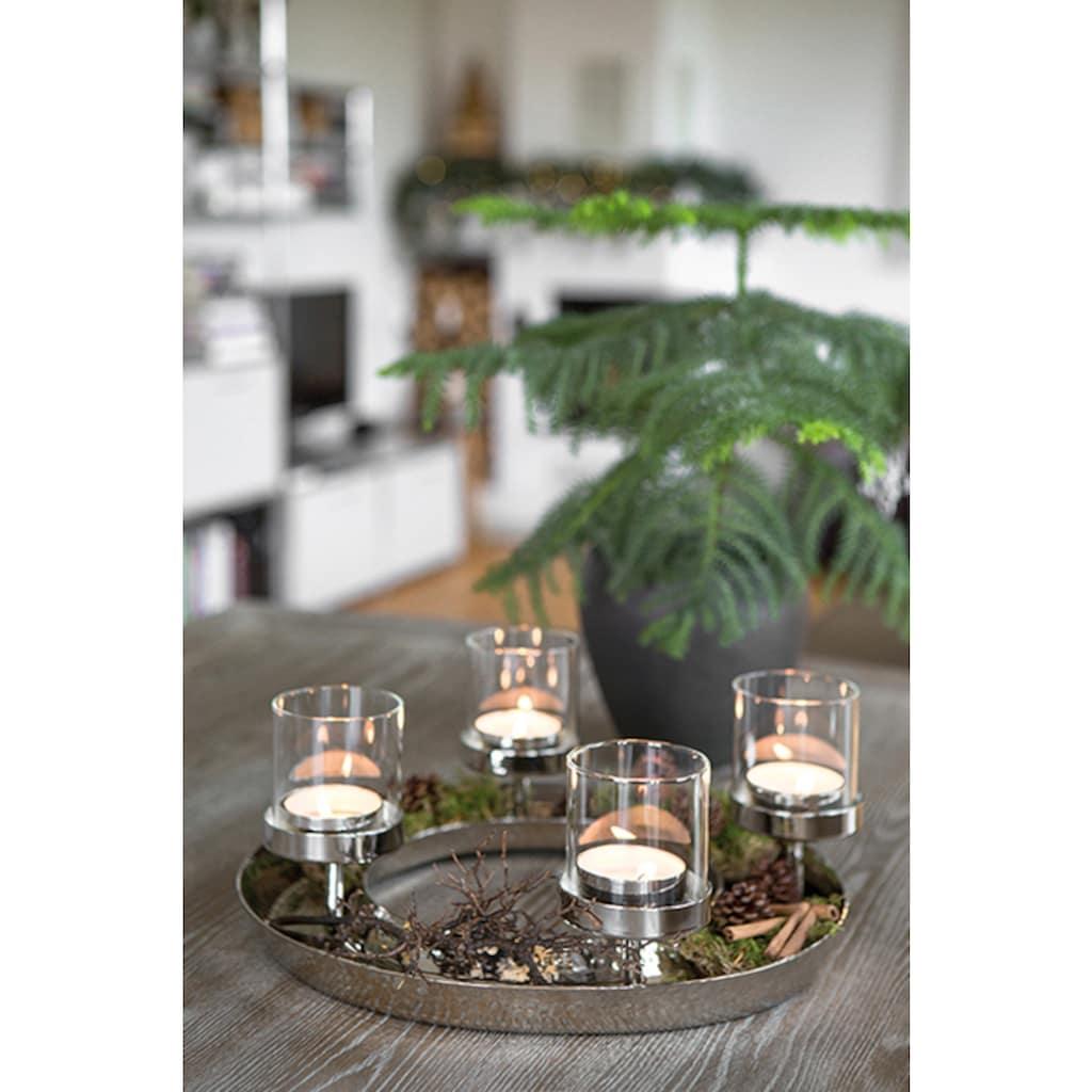 Fink Adventsleuchter »FLEX«, 4-flammiger Kerzenhalter, Ø ca. 38 cm