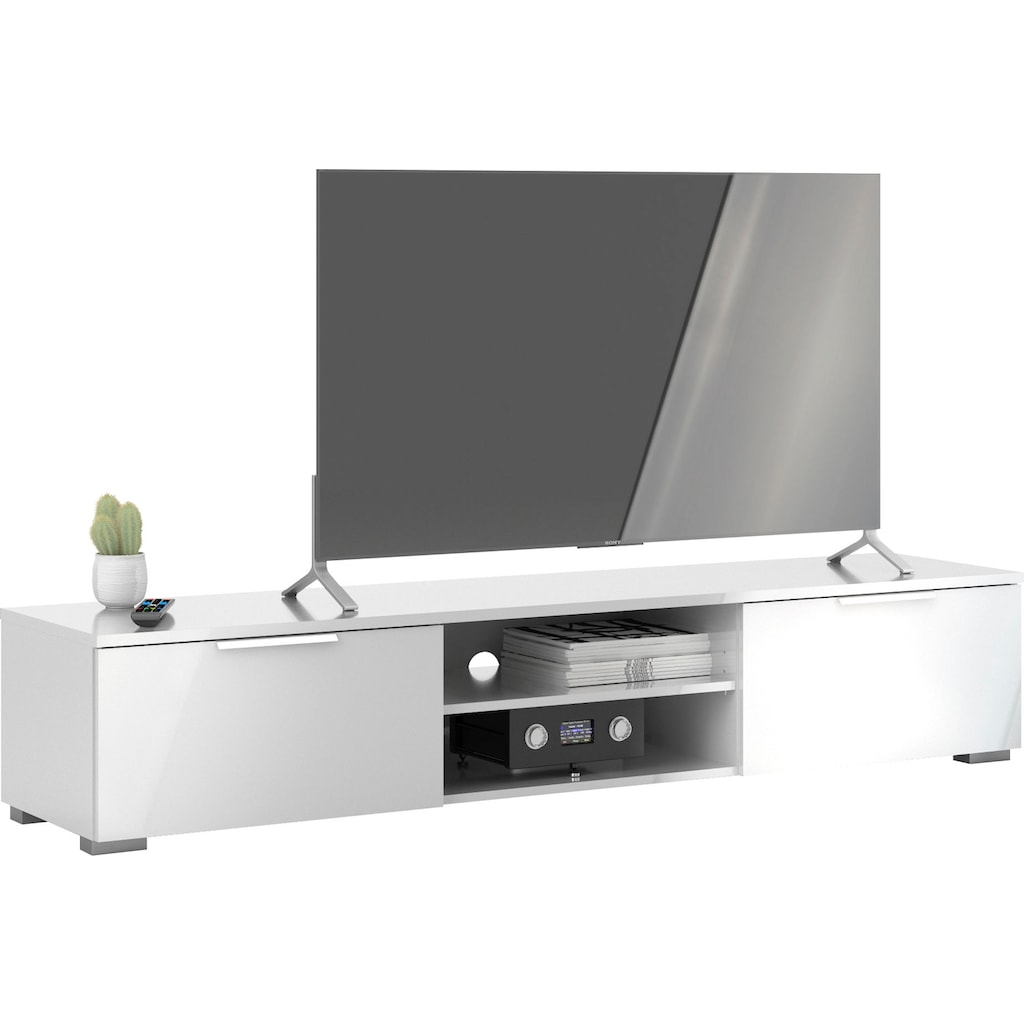 Home affaire TV-Board »Match«, mit einer praktischen Kabeldurchführung, pflegeleichte Oberfläche, in unterschiedlichen Farbvarianten, Breite 172,7 cm