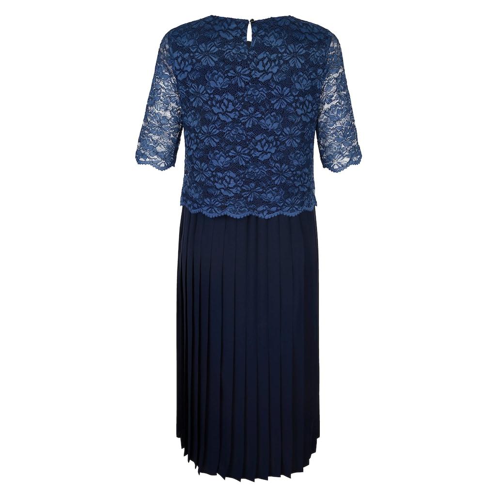 Mona Kleid mit Spitzenoberteil