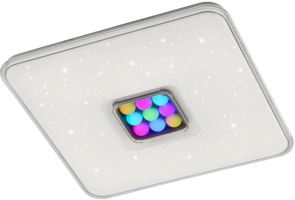 TRIO Leuchten LED Deckenleuchte Ogasaki, LED-Modul, Farbwechsler