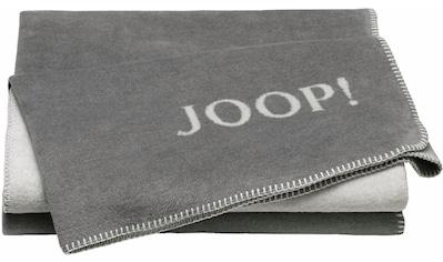 Joop! Wohndecke »Doubleface«, in zweifarbigen Design kaufen