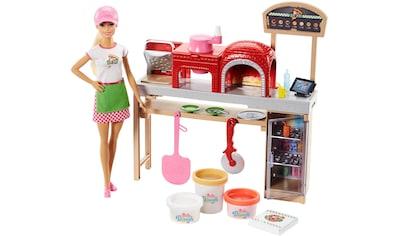 "Mattel® Anziehpuppe ""Barbie Cooking & Baking, Pizzabäckerin Spielset"" kaufen"