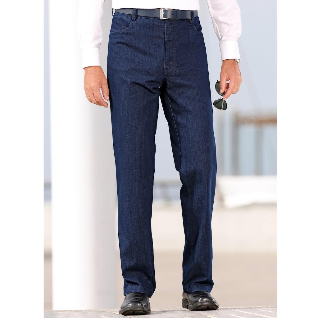 Roger Kent Stretch-Jeans, mit Comfort-Innendehnbund