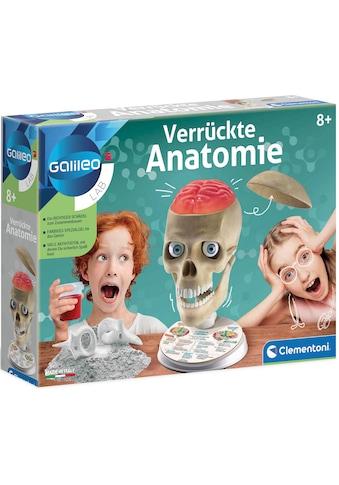 Clementoni® Experimentierkasten »Galileo - Verrückte Anatomie« kaufen