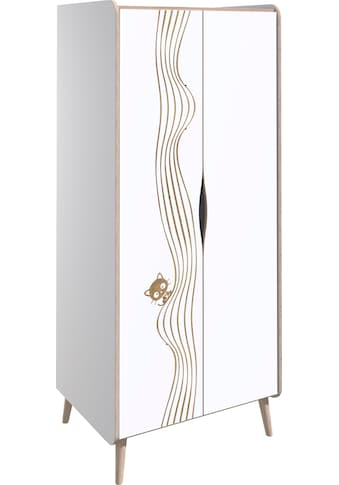 Lüttenhütt Kleiderschrank »Nethe«, mit Print, Breite 78,5 cm kaufen