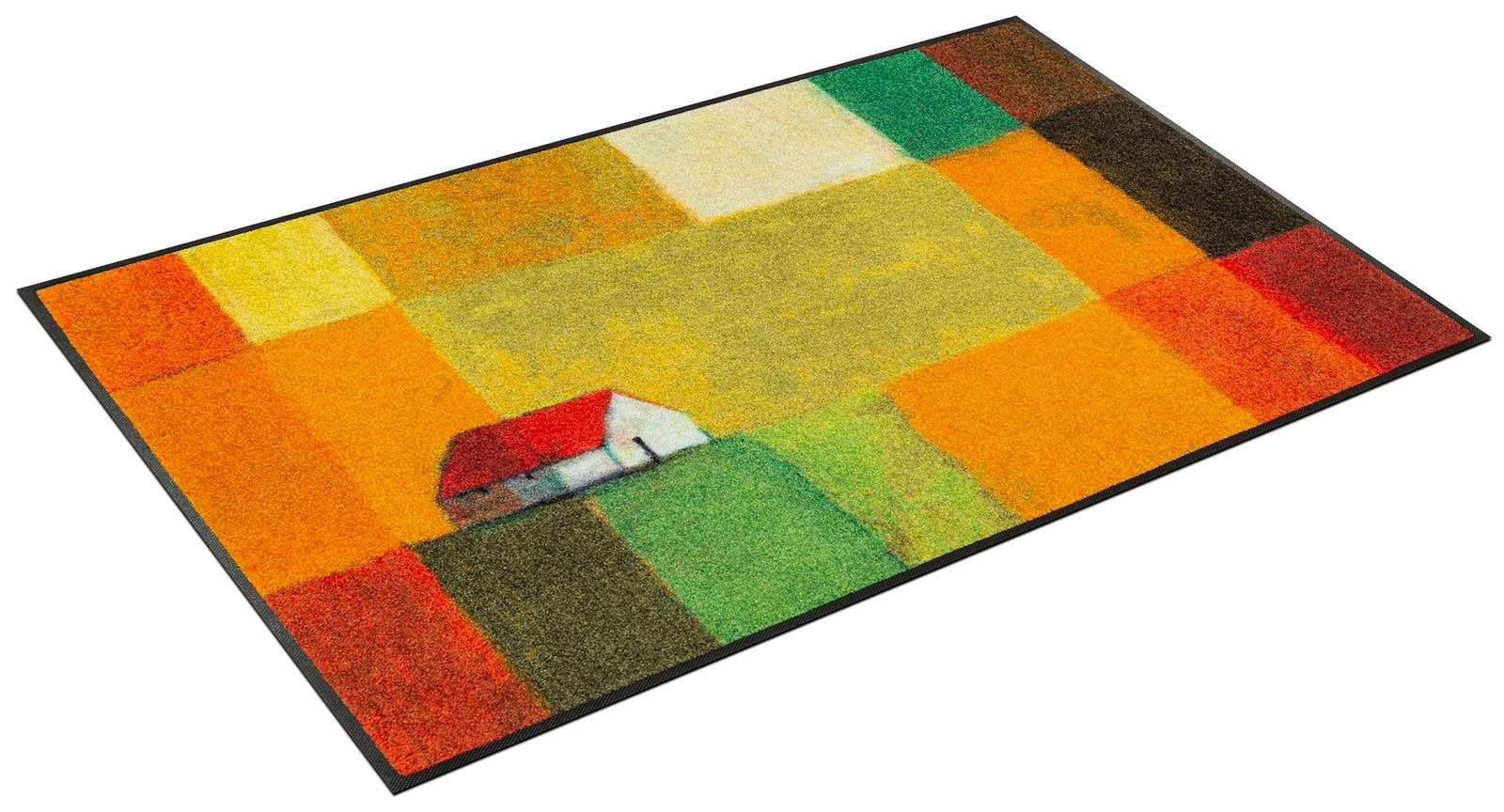 Teppich Meadow Lands wash+dry by Kleen-Tex rechteckig Höhe 7 mm gedruckt